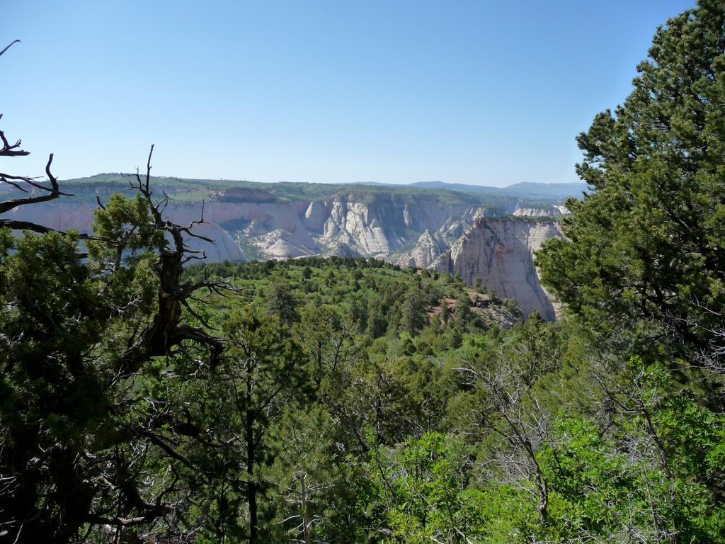 Trans-Zion Backpacking Trip